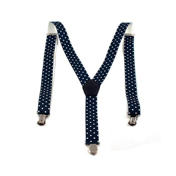 VINLEA 1'' Women and Men Suspenders Y-back style