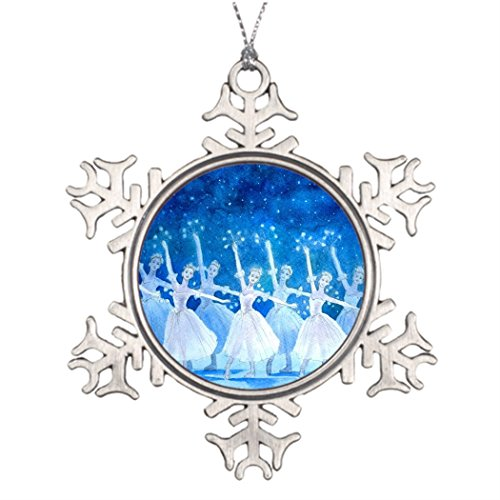 Tree Branch Decoration Dance of the Snowflakes customizable Outdoor Christmas Decoration Ballet