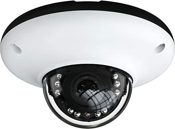 HDView IP PoE Dome Camera 4MP Megapixel 3.6mm Lens Full HD Indoor Outdoor IP67 DWDR Motion Detection Infrared SMT Led Night Vision ONVIF