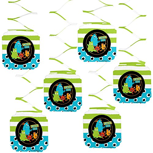 Big Dot of Happiness Monster Bash - Little Monster Birthday Party or Baby Shower Hanging Decorations - 6 -