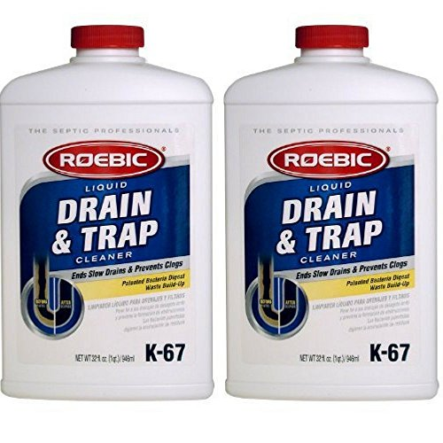 Roebic K-67L-Q-12 32-Ounce Liquid Drain And Trap Cleaner by Roebic (2 bottles)