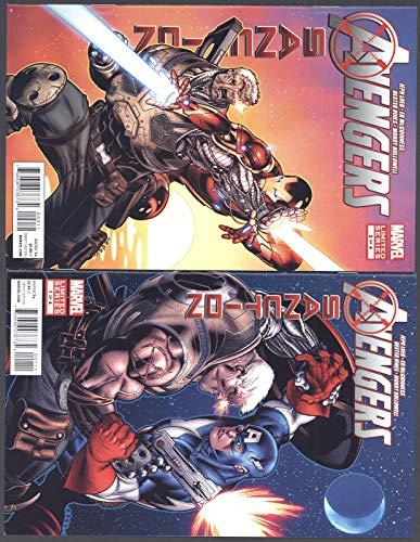 Avengers X-Sanction 1-4 Near Mint Complete Set Full Run Marvel Comics 2012 CBX36