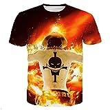 GIGA COOL Womens Mens Fashion Portgas.D. Ace One Piece 3D Hip Hop Harajuku T-Shirt