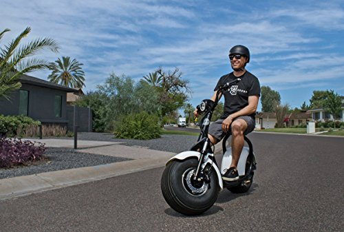 PHAT SCOOTERS - Phatty Sport Electric Scooter - Matte Black Frame - Gunmetal Fenders - Light Wood Deck by PHAT SCOOTERS (Image #2)