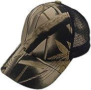 E-forest hair Plain Kids Baseball Cap Youth Mesh Trucker Blank Cap Adjustable Snapback