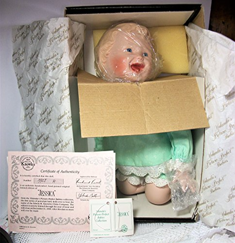 Knowles China Collectable Porcelain Doll Jessica from the Yolanda's Picture Perfect Babies Collection artist Yolanda Bellow made by company