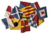 thomaspaul Signal Flags Cocktail Napkin Ring (Set of 12), 7 by 7''