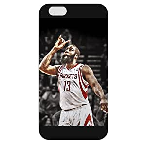 Onelee(TM) - Customized Black Frosted iPhone 6 Case, NBA Superstar Houston Rockets James Harden iPhone 6 Case, Only Fit iPhone 6 Case wangjiang maoyi