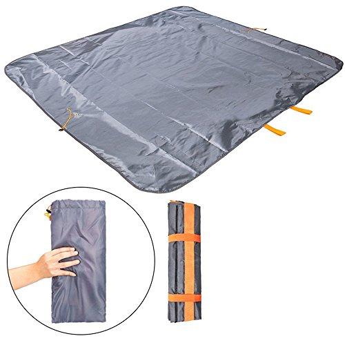 [해외]야외 피크닉 담요, FLYMEI 휴대용 방수 모래 증거 해변 캠핑 담요 & amp; /Outdoor Picnic Blanket,FLYMEI Portable Waterproof Sand Proof Beach  Camping Blanket & Travel Bag in One, Lightweight Picnic Mat with Shoulder Strap for F...