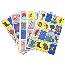 IMUSA USA TOY-01100 Traditional Mexican Loteria Card Game