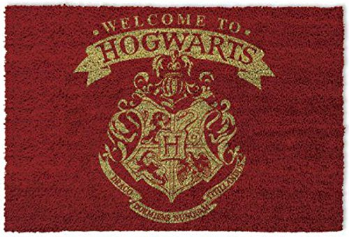 Harry Potter Door Mat Floor Mat - Welcome to Hogwarts (24 x 16 inches)