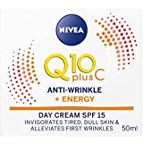 Nivea Q10 Plus Anti-Wrinkle Energising Face Day Cream SPF 15, 50 ml