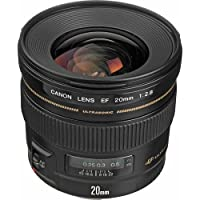 Canon EF 20mm f/2.8 USM Wide-Angle Fixed Lens International Version (No warranty)