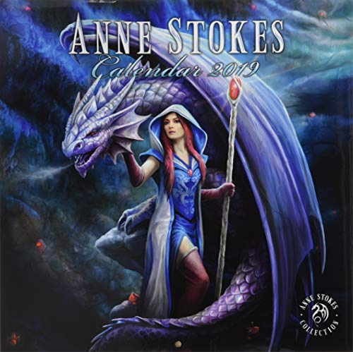 (Anne Stokes Officially Licensed 2019 Square Calendar)