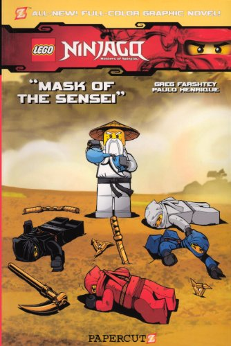 Mask Of The Sensei (Turtleback School & Library Binding Edition) (Lego Ninjago) (Ninja Turtles Sensei)