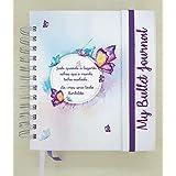 Caderno com Abas - Borboletas (300 páginas 90g, Pontilhado)