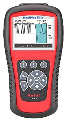 Autel Scanner MD802 Maxidiag Elite Full System Diagnoses for ABS, SRS, Engine, Transmission ,EPB, Oil Rese
