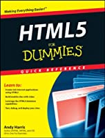 HTML5 For Dummies Quick Reference Front Cover