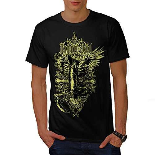 [Damned Soul Death Axe Hell Angel Men NEW S T-shirt | Wellcoda] (1940s Dance Costumes)