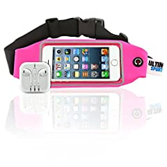 ULTIMATE SPORTS PRO introduces the multi-functional running and fitness waist pack for the ultimate sports enthusiast. Our belt will revolutionize the way in which you train and work out. Exercise hands-free and say good bye to annoying tangl...