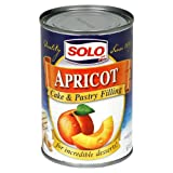 Solo Filling, Apricot, 12-Ounce Unit (Pack of 12)