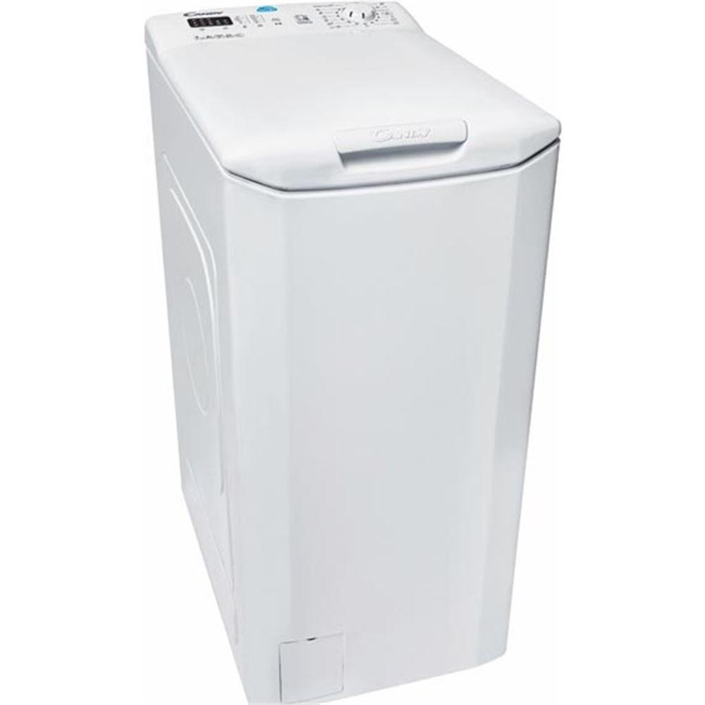 Candy CST 372L-S Lavadora Carga Superior NFC 7kgs, 42 litros, 61 Decibeles, Blanco [Clase de eficiencia energética A+++] 31007557