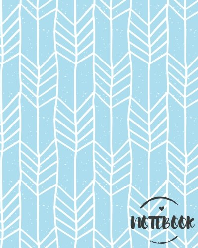 Notebook: Mint Geometric Boho Chic Journal :8 x 10 size : Lined Journal : Perfect to write in (College Ruled Notebook) (Volume 4)