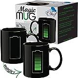 Best Dad  Cups - Magic Coffee Heat Sensitive Mug, Battery Charging Design Review