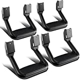 2000 ford f150 side steps - DNA Motoring SSTEP-BK-X2 Aluminum Side Steps (4pcs)