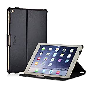 MANNA iPad Air 2 iPad 6 Case Smart Cover Stand | CleverStrap & Autosleep | Black by Manna