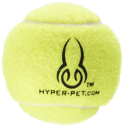 Dog Tennis Ball (Hyper Pet Tennis Balls for Dogs, Pet Safe Dog Toys for Exercise and Training, Pack of 4, Green)