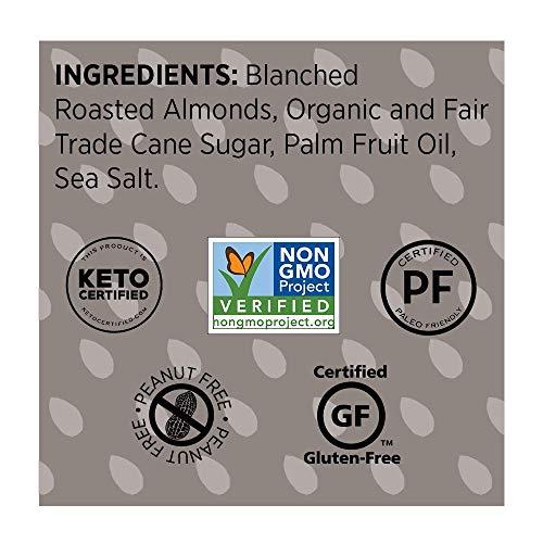 BARNEY Almond Butter, Crunchy, Paleo Friendly, KETO, Non-GMO, Skin-Free, 16 Ounce 5