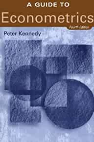 a guide to econometrics 4th edition 9780262112352 a guide to econometrics kennedy download a guide to econometrics kennedy table of contents
