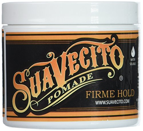 (Suavecito Pomade Firme (Strong) Hold 4 oz (Pack of 3))