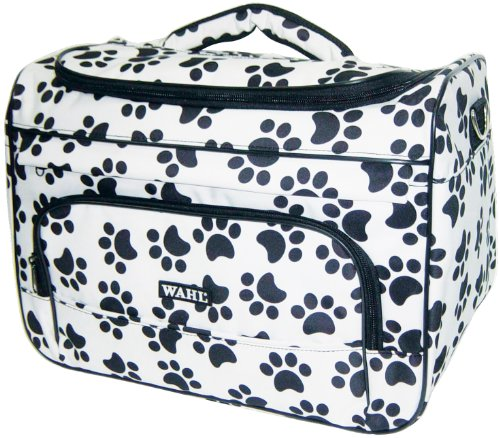 Wahl 97764-001 Paw Print Travel Tote for Professional Grooming, My Pet Supplies