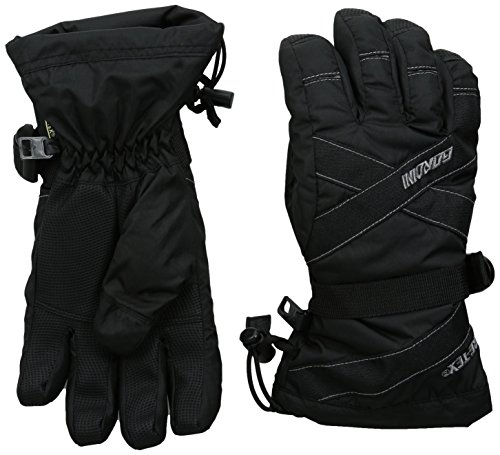 Gore Tex Insulated Gloves - Gordini Youth Gore-Tex III Junior Gloves, Black, Medium