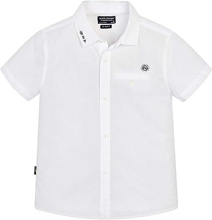 Mayoral, Camisa para niño - 6124, Blanco: Amazon.es: Ropa y accesorios