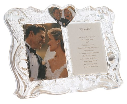 Lenox Crystal Sentiments Invitation Frame ()