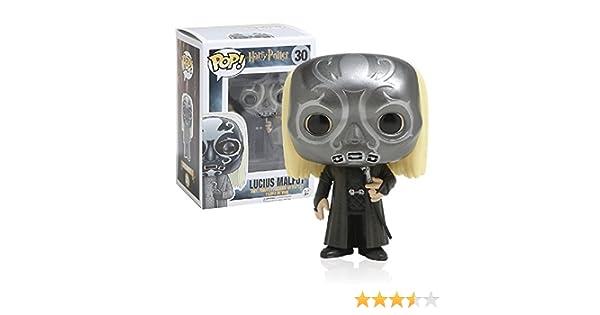 Funko 10992 – Harry Potter 30, Figura de Vinyl, Mascara Death Eater Lucius Malfoy