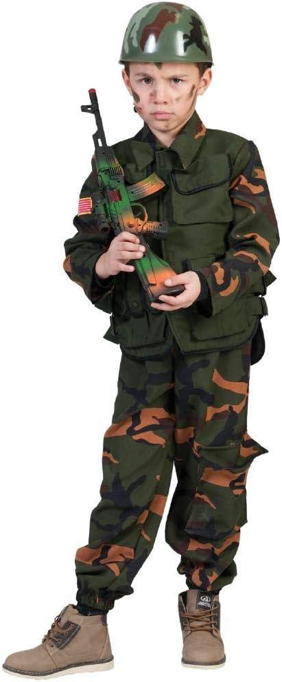 Funny - Disfraz Militar Guerra TG 3/4 años Soldado Niño Carnaval ...