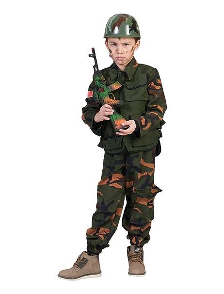 Funny - Disfraz Militar Guerra TG 3/4 años Soldado Niño ...