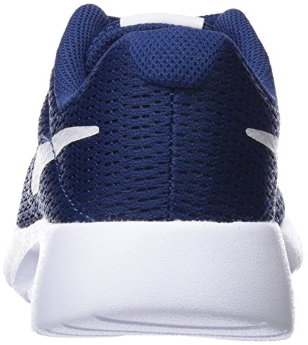 Nike Tanjun (GS) - Zapatillas Para Niño, Multicolor Azul (Navy/vast Grey/white 403)