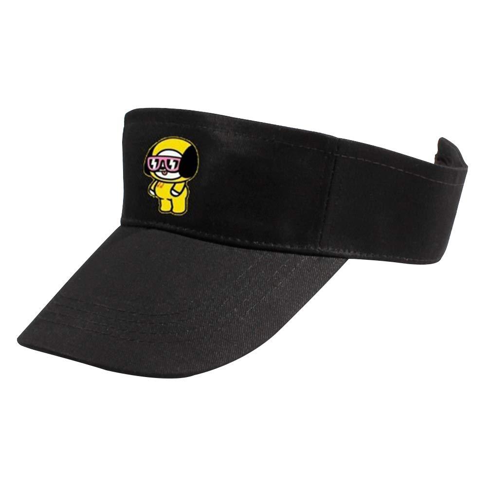 GOTH Perhk BTS Bangtan Boys H/üte Unisex Sport Sonnenblende One Size Adjustable Cap