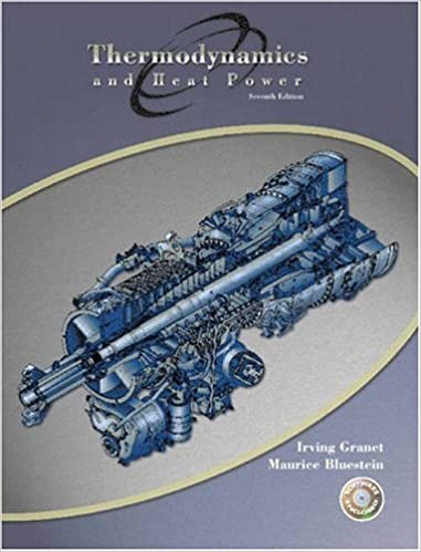 thermodynamics and heat power 7th edition
