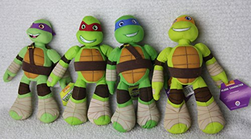 Nickelodeon Ninja Turtle Set of 4 Plush Toys 10
