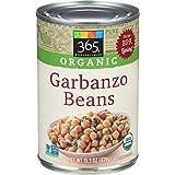 365 Everyday Value, Organic Garbanzo Beans, 15.5 Ounce