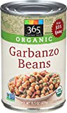365 Everyday Value Organic Garbanzo Beans, 15.5 oz