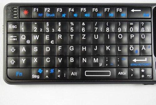 iClever® Rii RT MWK01+ Funk Rii Mini Keyboard PC: