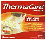 ThermaCare Air-Activated Heatwraps, Neck, Wrist & Shoulder, Pack of 6 (3 Heatwraps Per Pack)