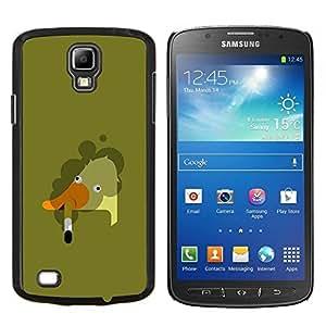 LECELL--Funda protectora / Cubierta / Piel For Samsung Galaxy S4 Active i9295 -- Ganso de fumadores Arte Malo Pintura --